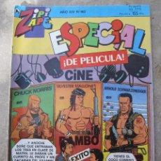 Tebeos: ZIPI ZAPE , NUMERO 162 , ESPECIAL DE PELICULA - BRUGUERA 1986. Lote 47752646