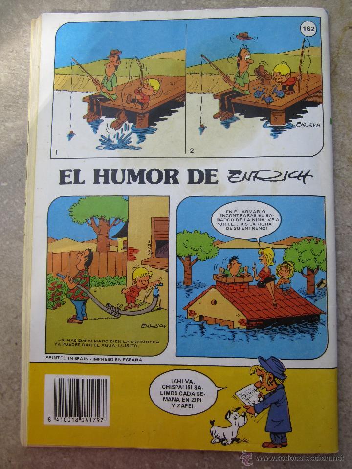 Tebeos: zipi zape , numero 162 , especial de pelicula - bruguera 1986 - Foto 2 - 47752646