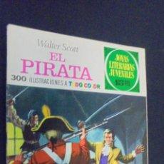 Tebeos: JOYAS LITERARIAS JUVENILES - Nº 6 - EL PIRATA - BRUGUERA - 1970 - 1ª EDICION.. Lote 47768624