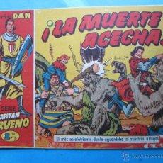 Tebeos: COLECCION DAN , CAPITAN TRUENO , NUMERO 23 , LA MUERTE ACECHA,- ORIGINAL 1957 , BRUGUERA. Lote 47824828