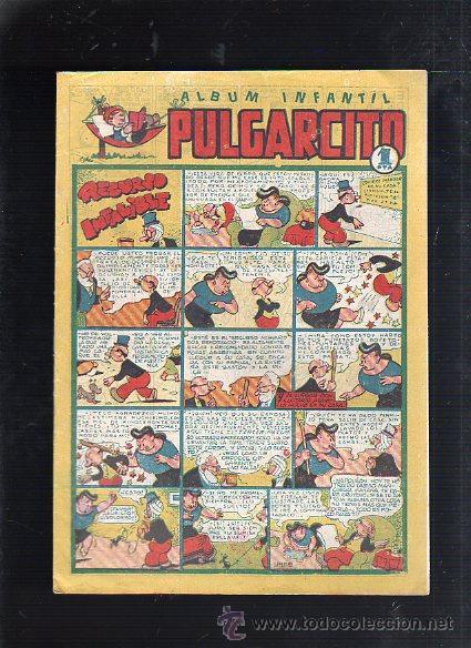ALBUM INFANTIL PULGARCITO. Nº 34. RECURSO INFALIBLE (Tebeos y Comics - Bruguera - Pulgarcito)
