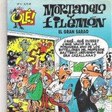 Tebeos: 1 COMIC MORTADELO Y FILEMON - EL GRAN SARAO. Lote 47841828