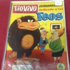 Tebeos: BRUGUERA - TIO VIVO EXTRAORDINARIO DEDICADO A LOS FEOS NUMERO 90. Lote 47841866
