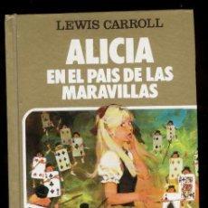 Tebeos: ALICIA EN EL PAIS DE LAS MARAVILLAS -BRUGUERA, 1ª EDIC.1982. PORTADA POR BOSCH PENALVA.. Lote 47861380