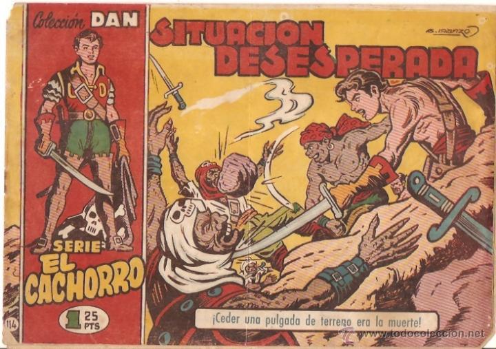 COMIC EL CACHORRO Nº114 (Tebeos y Comics - Bruguera - El Cachorro)