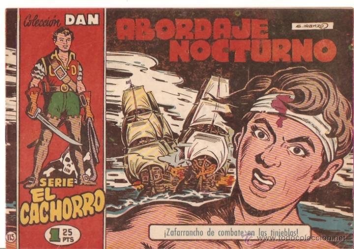 COMIC EL CACHORRO Nº115 (Tebeos y Comics - Bruguera - El Cachorro)