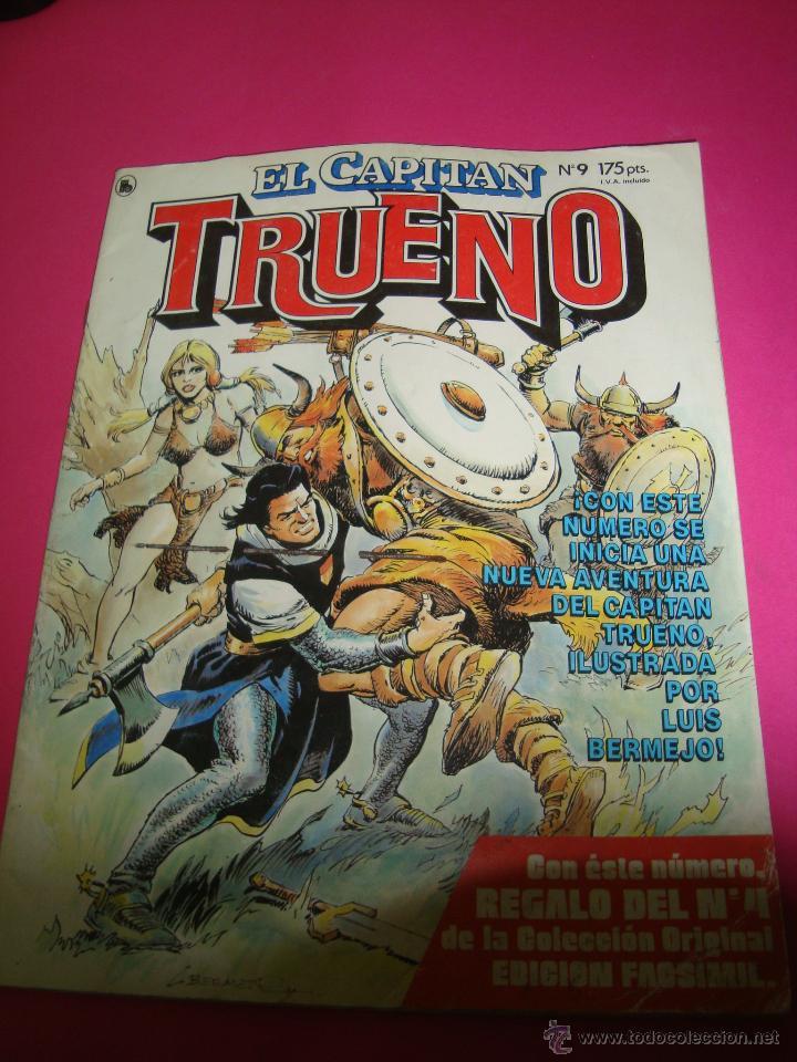 CAPITAN TRUENO COMIC Nº9 (Tebeos y Comics - Bruguera - Capitán Trueno)