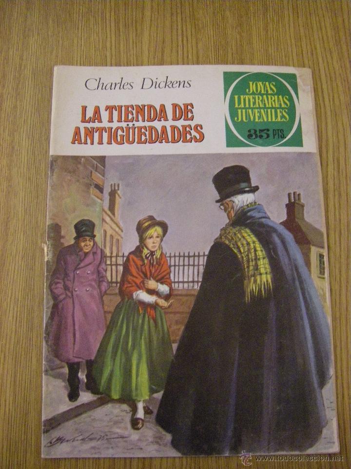 JOYAS LITERARIAS JUVENILES BRUGUERA Nº 154 - LA TIENDA DE ANTIGÜEDADES - 2ª EDICION 1979 (Tebeos y Comics - Bruguera - Joyas Literarias)