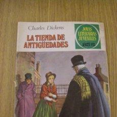 Tebeos: JOYAS LITERARIAS JUVENILES BRUGUERA Nº 154 - LA TIENDA DE ANTIGÜEDADES - 2ª EDICION 1979. Lote 47965319