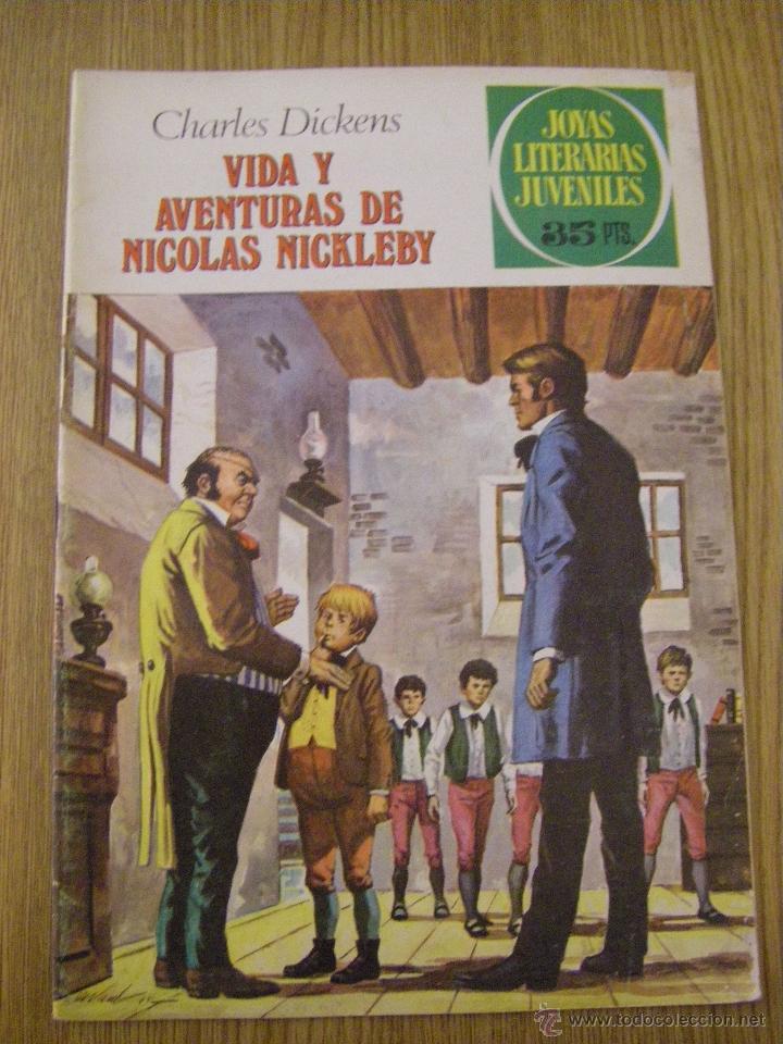 JOYAS LITERARIAS JUVENILES BRUGUERA Nº 148 - VIDA Y AVENTURAS DE NICOLAS NICKLEBY - 2ª EDICION 1979 (Tebeos y Comics - Bruguera - Joyas Literarias)