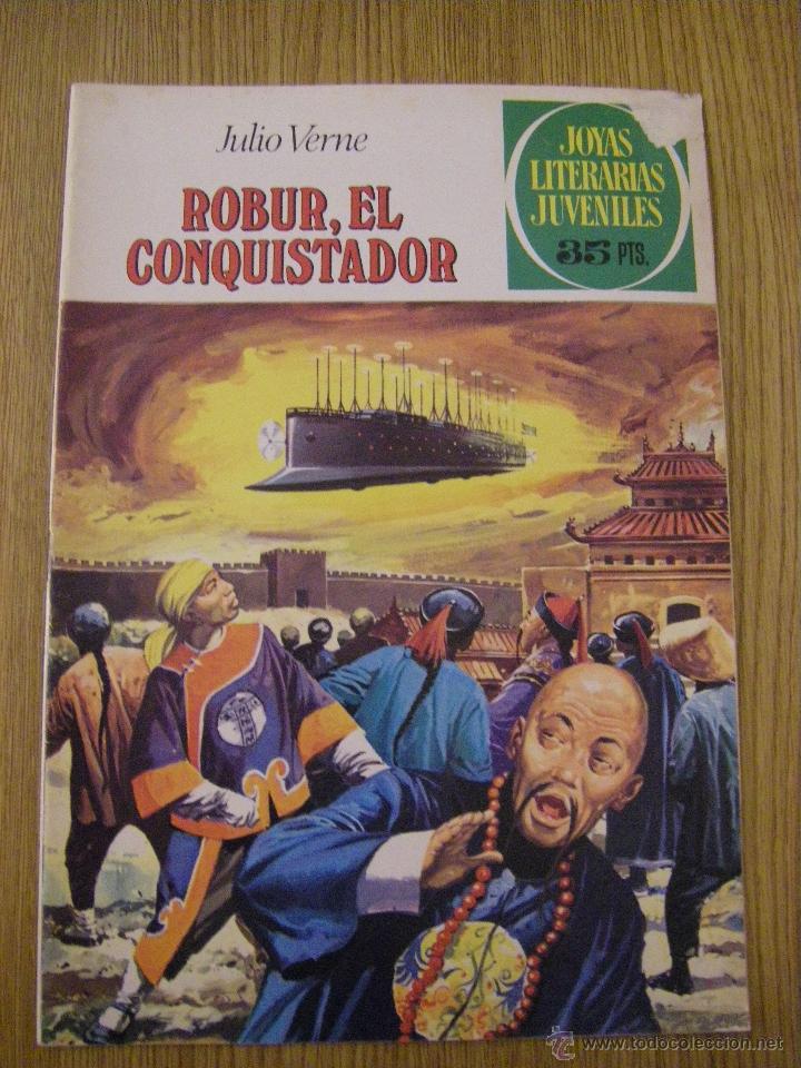 JOYAS LITERARIAS JUVENILES BRUGUERA Nº 113 - ROBUR, EL CONQUISTADOR - 3ª EDICION 1979 (Tebeos y Comics - Bruguera - Joyas Literarias)
