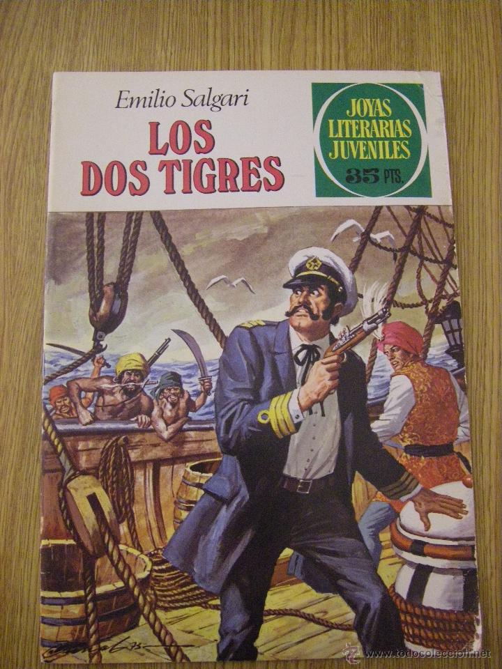 JOYAS LITERARIAS JUVENILES BRUGUERA Nº 81 - LOS DOS TIGRES - 3ª EDICION 1979 (Tebeos y Comics - Bruguera - Joyas Literarias)