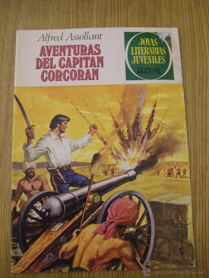 JOYAS LITERARIAS JUVENILES BRUGUERA Nº 80 - AVENTURAS DEL CAPITAN CORCORAN - 3ª EDICION 1979 (Tebeos y Comics - Bruguera - Joyas Literarias)