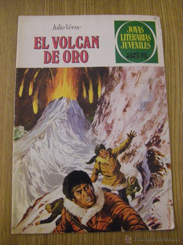 JOYAS LITERARIAS JUVENILES BRUGUERA Nº 79 - EL VOLCAN DE ORO - 4ª EDICION 1979 (Tebeos y Comics - Bruguera - Joyas Literarias)