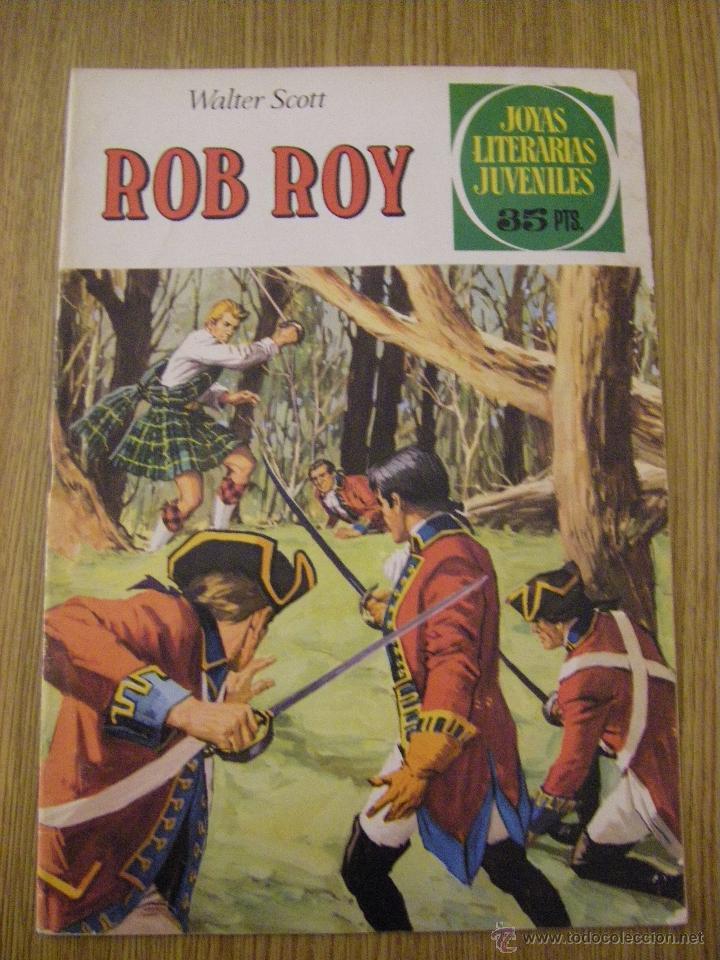 JOYAS LITERARIAS JUVENILES BRUGUERA Nº 11 - ROB ROY - 5ª EDICION 1979 (Tebeos y Comics - Bruguera - Joyas Literarias)