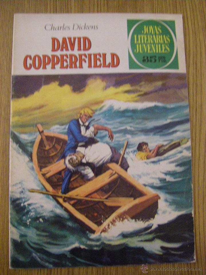 JOYAS LITERARIAS JUVENILES BRUGUERA Nº 8 - DAVID COPPERFIELD - 5ª EDICION 1979 (Tebeos y Comics - Bruguera - Joyas Literarias)