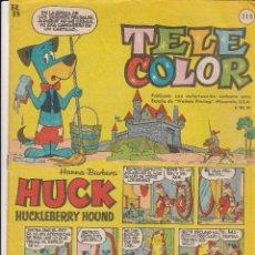 Tebeos: TEBEO TELE COLOR AÑOS 60 NUMERO - 115. Lote 47966978