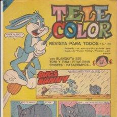 Tebeos: TEBEO TELE COLOR AÑOS 60 NUMERO - 135. Lote 47967098