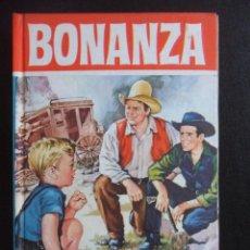 Tebeos: BONANZA. EL ENIGMA DE JERRY. COLECION HEROES, EDITORIAL BRUGUERA, 1ª EDICION 1964. TAPA DURA. 160 IL. Lote 47990021