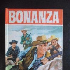 Tebeos: BONANZA. EL BOSQUE EN LLAMAS. COLECION HEROES, EDITORIAL BRUGUERA, 1ª EDICION 1964. TAPA DURA. 160 I. Lote 47990074