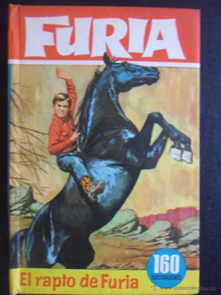 FURIA. EL RAPTO DE FURIA. COLECION HEROES, EDITORIAL BRUGUERA, 1ª EDICION 1963. TAPA DURA. 160 ILUST (Tebeos y Comics - Bruguera - Historias Selección)