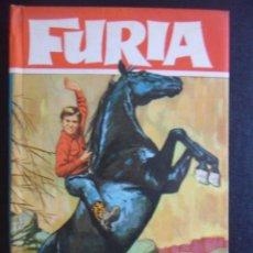 Tebeos: FURIA. EL RAPTO DE FURIA. COLECION HEROES, EDITORIAL BRUGUERA, 1ª EDICION 1963. TAPA DURA. 160 ILUST. Lote 47990221