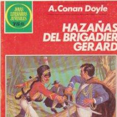 Tebeos: JOYAS LITERARIAS JUVENILES Nº 267. HAZAÑAS DEL BRIGADIER GERARD. 1ª EDICIÓN 1983.. Lote 47997413