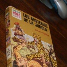 Tebeos: LOS MISTERIOS DE LA JUNGLA - COLECCION HISTORIAS SELECCION - BRUGUERA ZPW - 7ª ED 1975 JULIO VERNE. Lote 57776927