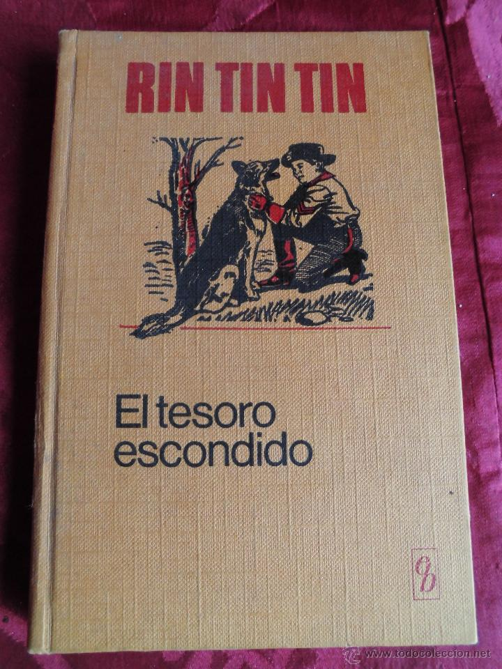 ANTIGUO RIN TIN TIN EL TESORO ESCONDIDO PRIMERA EDICION 1970 BRUGUERA (Tebeos y Comics - Bruguera - Historias Selección)