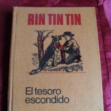 Tebeos: ANTIGUO RIN TIN TIN EL TESORO ESCONDIDO PRIMERA EDICION 1970 BRUGUERA. Lote 48023159