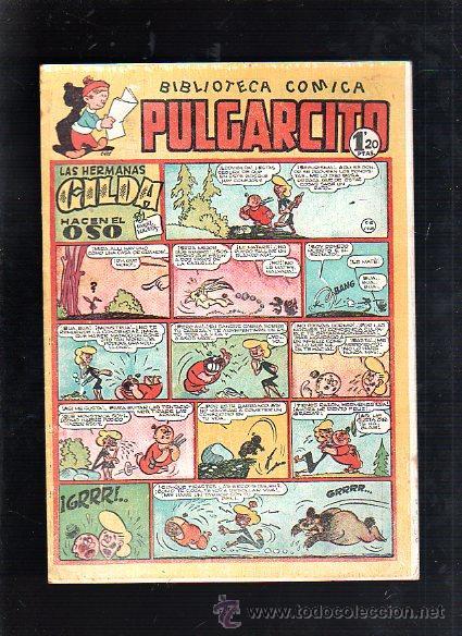 BIBLIOTECA COMICA. PULGARCITO. Nº 130. LAS HERMANAS GILDA HACEN EL OSO (Tebeos y Comics - Bruguera - Pulgarcito)