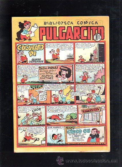 BIBLIOTECA COMICA. PULGARCITO. Nº 107. CUCUFATO PI QUIERE VENGARSE (Tebeos y Comics - Bruguera - Pulgarcito)