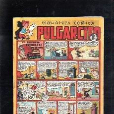 Tebeos: BIBLIOTECA COMICA. PULGARCITO. Nº 93. EL REPORTER TRIBULETE QUE EN TODAS PARTES SE METE. Lote 48069480