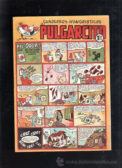 CUADERNOS HUMORISTICOS. PULGARCITO. Nº 141. HELIODORO EN EL RETRATO DE DURIAN PAEZ (Tebeos y Comics - Bruguera - Pulgarcito)