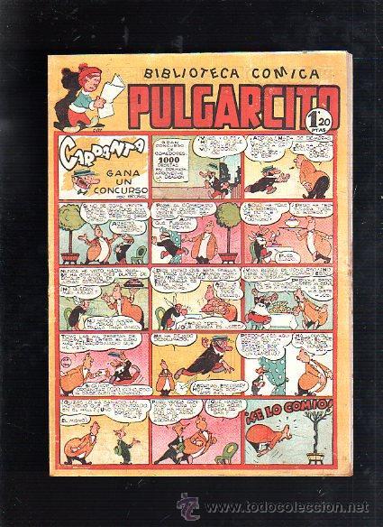 BIBLIOTECA COMICA. PULGARCITO. Nº 139. CARPANTA GANA UN CONCURSO (Tebeos y Comics - Bruguera - Pulgarcito)