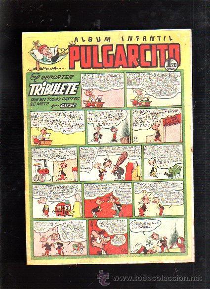 ALBUM INFANTIL. PULGARCITO. Nº 187. EL REPORTER TRIBULETE QUE EN TODAS PARTES SE METE (Tebeos y Comics - Bruguera - Pulgarcito)