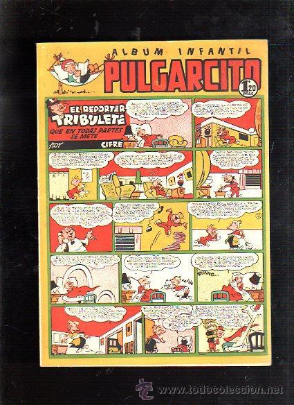 ALBUM INFANTIL. PULGARCITO. Nº 217. EL REPORTER TRIBULETE QUE EN TODAS PARTES SE METE (Tebeos y Comics - Bruguera - Pulgarcito)