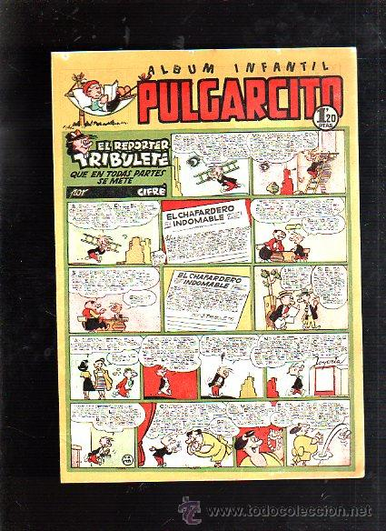 ALBUM INFANTIL. PULGARCITO. Nº 193. EL REPORTER TRIBULETE QUE EN TODAS PARTES SE METE (Tebeos y Comics - Bruguera - Pulgarcito)