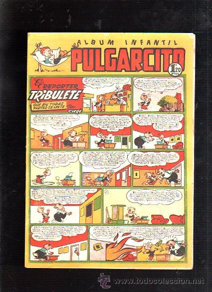ALBUM INFANTIL. PULGARCITO. Nº 216. EL REPORTER TRIBULETE QUE EN TODAS PARTES SE METE (Tebeos y Comics - Bruguera - Pulgarcito)