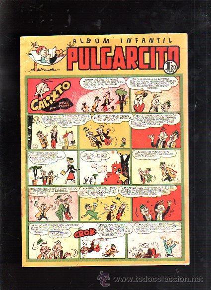 ALBUM INFANTIL. PULGARCITO. Nº 212. CALIXTO (Tebeos y Comics - Bruguera - Pulgarcito)