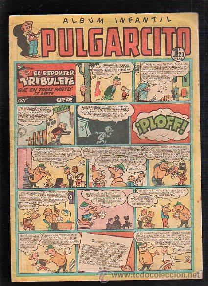 ALBUM INFANTIL. PULGARCITO. Nº 222. EL REPORTER TRIBULETE QUE EN TODAS PARTES SE METE (Tebeos y Comics - Bruguera - Pulgarcito)