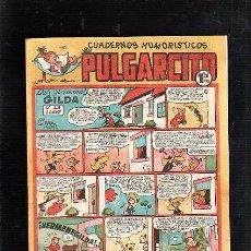 Tebeos: CUADERNOS HUMORISTICOS. PULGARCITO. Nº 147. LAS HERMANAS GILDA. Lote 48152203