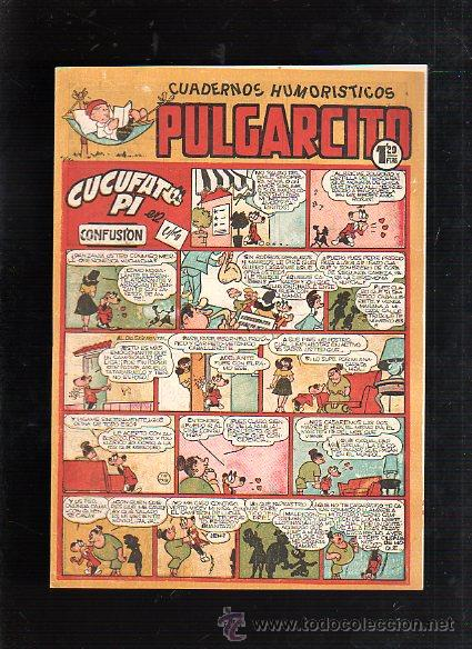 CUADERNOS HUMORISTICOS. PULGARCITO. Nº 142. CUCUFATO PI EN CONFUSION (Tebeos y Comics - Bruguera - Pulgarcito)