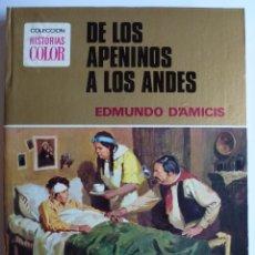 Tebeos: HISTORIAS COLOR-DE LOS APENINOS A LOS ANDES-BRUGUERA-1ª ED 1977 NUEVO. Lote 48220755