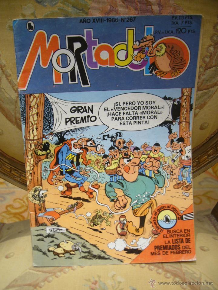 MORTADELO Nº 267. BRUGUERA, 1ª EDICION 1.986. (Tebeos y Comics - Bruguera - Mortadelo)