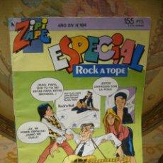 Tebeos: ZIPI ZAPE ESPECIAL ROCK A TOPE. BRUGUERA, AÑO XIV, Nº 164.. Lote 48223303