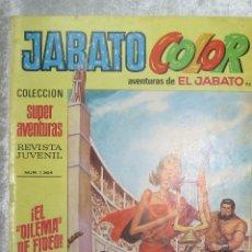 Tebeos: JABATO COLOR COLECCION SUPERAVENTURAS - PRIMERA EPOCA 1971 - Nº 92 EL DILEMA DE FIDEO. Lote 48263286