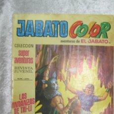 Tebeos: JABATO COLOR COLECCION SUPERAVENTURAS - PRIMERA EPOCA 1971 - Nº 95 LAS ANDANZAS DE TAI-LI. Lote 48263422