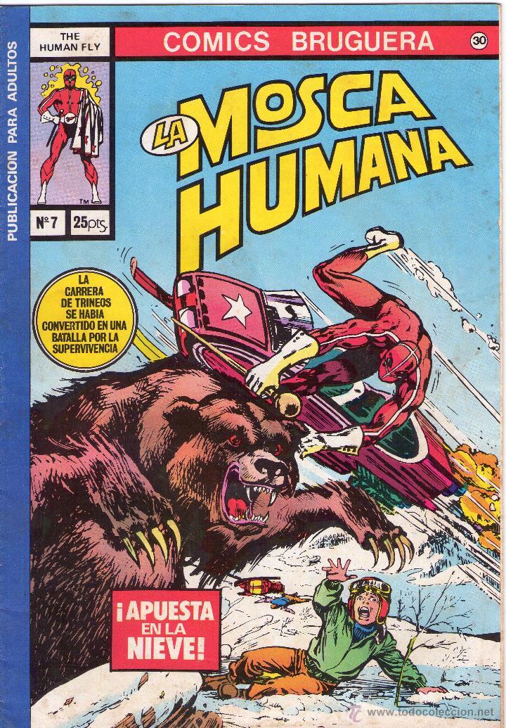LA MOSCA HUMANA (Tebeos y Comics - Bruguera - Otros)