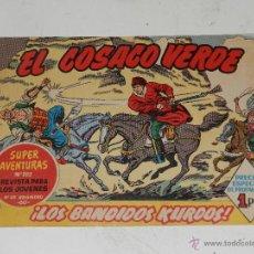 Tebeos: (M-0) EL COSACO VERDE NUM 1 - EDT BRUGUERA , MUY BUEN ESTADO DE CONSERVACION. Lote 48319287